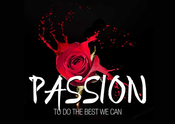 We serve with Passion